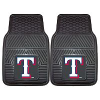 FANMATS Texas Rangers 2-Piece Car Mats