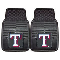 FANMATS Texas Rangers 2-Piece Car Mats