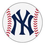 FANMATS New York Yankees Round Baseball Mats