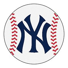 FANMATS New York Yankees Round Baseball Mats