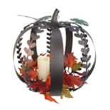 Celebrate Fall Together LED Candle Pumpkin Table Decor
