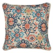 Spencer Home Decor Abigail Floral Print Throw Pillow
