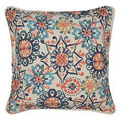 Spencer Home Decor Abigail Floral Print Throw Pillow