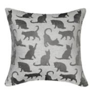 Spencer Home Decor Mellie Cats Throw Pillow