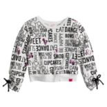 Girls 7-16 JoJo Siwa Conversational Sweatshirt