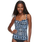 Women's Apt. 9® Ikat Twisted Bandeaukini Top