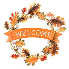 Celebrate Fall Together 'Welcome' Wall Decor