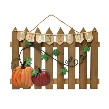 Celebrate Fall Together Thanksgiving Fence Wall Decor