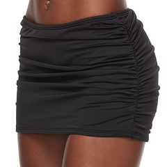 Women's Apt. 9® Hip Minimizer Ruched Skirtini Bottoms