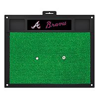 FANMATS Atlanta Braves Golf Hitting Mat