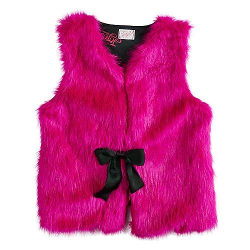 Girls 7-16 JoJo Siwa Faux Fur Vest
