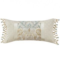 Marquis by Waterford Warren Floral Oblong Throw Pillow