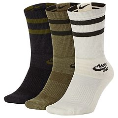 Men's Nike SB 3-pack Dry Performance Skateboarding Crew Socks