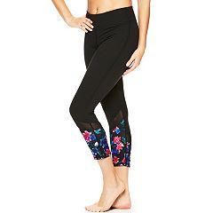Women's Gaiam Om Lux Yoga High-Waisted Capri Leggings