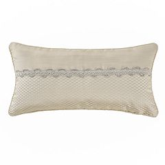 Marquis by Waterford Emilia Floral Oblong Throw Pillow