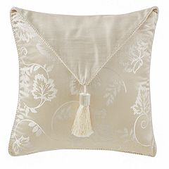 Marquis by Waterford Emilia Tassel Throw Pillow