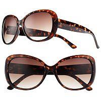 LC Lauren Conrad Belay Retro Square Wrap Sunglasses - Women