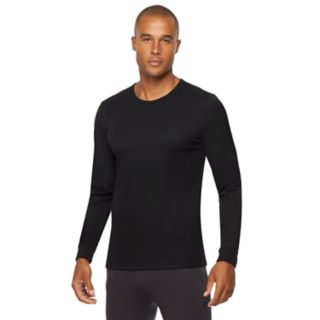 Men's Heat Keep Thermal Performance Ribbed Base Layer Tee