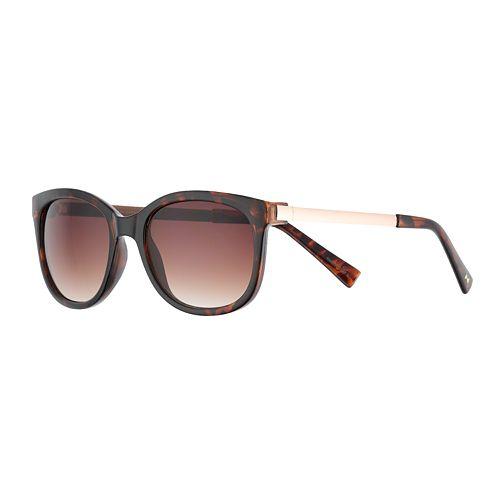 LC Lauren Conrad Lynx Square Sunglasses - Women