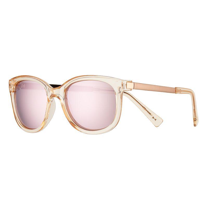 b17871e02d6 Armani Exchange AX4063S 57mm Square Mirror Sunglasses