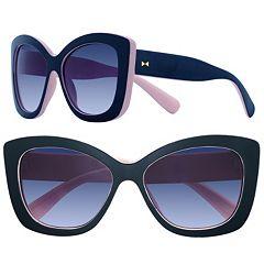LC Lauren Conrad Tortoise Cat's-Eye Sunglasses - Women