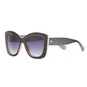 e7f0712d5 LC Lauren Conrad Kaia 43mm Midsize Wayfarer Gradient Sunglasses