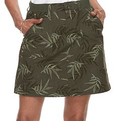 Women's Croft & Barrow® Utility Twill Skort