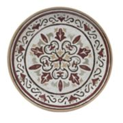 Food Network? Merlot Melamine Dinner Plate