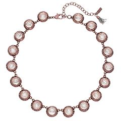 Simply Vera Vera Wang Faceted Bead Collar Necklace