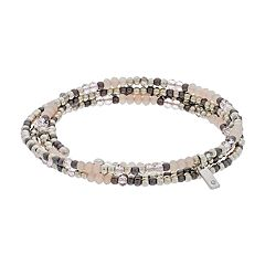 Simply Vera Vera Wang Beaded Coil Bracelet