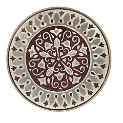 Food Network™ Merlot Melamine Salad Plate