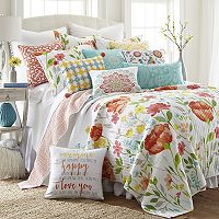Levtex Bellflower Quilt Set