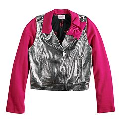 Girls 7-16 JoJo Siwa Moto Jacket