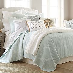 Levtex Odile Ice Blue Quilt Set