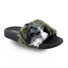 Olivia Miller Dania Women's Slide Sandals