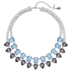 Simply Vera Vera Wang Faceted Stone Double Strand Necklace