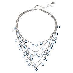 Simply Vera Vera Wang Faceted Stone Multi Strand Necklace