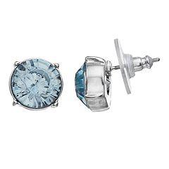 Simply Vera Vera Wang Blue Simulated Crystal Stud Earrings