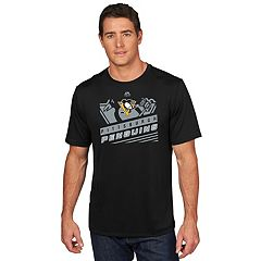Men's Majestic Pittsburgh Penguins Toe Drag Tee