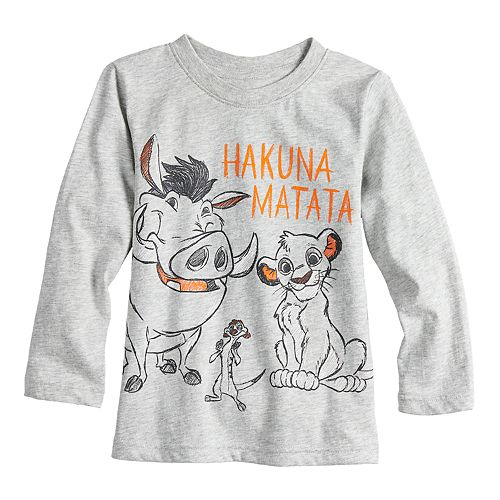 Disney's The Lion King Toddler Boy Timon, Simba & Pumba Graphic Tee by Jumping Beans®