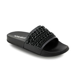 42c2871b933d Jennifer Lopez Bodhi Women s Studded Slide Sandals