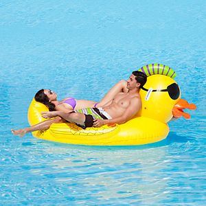 Sportsstuff  Punk Pirate Duck Inflatable Ride-On Pool Float