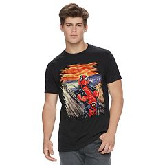 Men's Deadpool Scream Tee