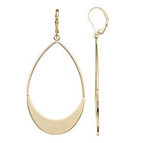 Simply Vera Vera Wang Flat Teardrop Earrings