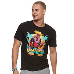 Men's Deadpool Tropical Oasis Tee