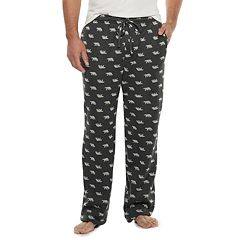 Big & Tall Croft & Barrow® Sweater Fleece Lounge Pants