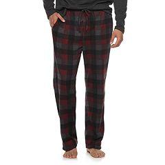 Big & Tall Croft & Barrow® Sweater Fleece Lounge Pants