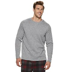 Big & Tall Croft & Barrow® Sweater Fleece Crewneck Tee