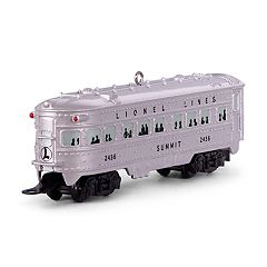 "LIONEL 2436 ""Summit"" Observation Car 2018 Hallmark Keepsake Christmas Ornament"