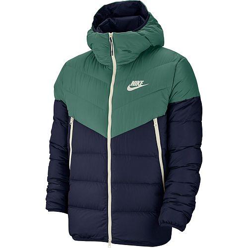 Men's Nike Sportswear Windrunner Colorblock Down Fill Jacket